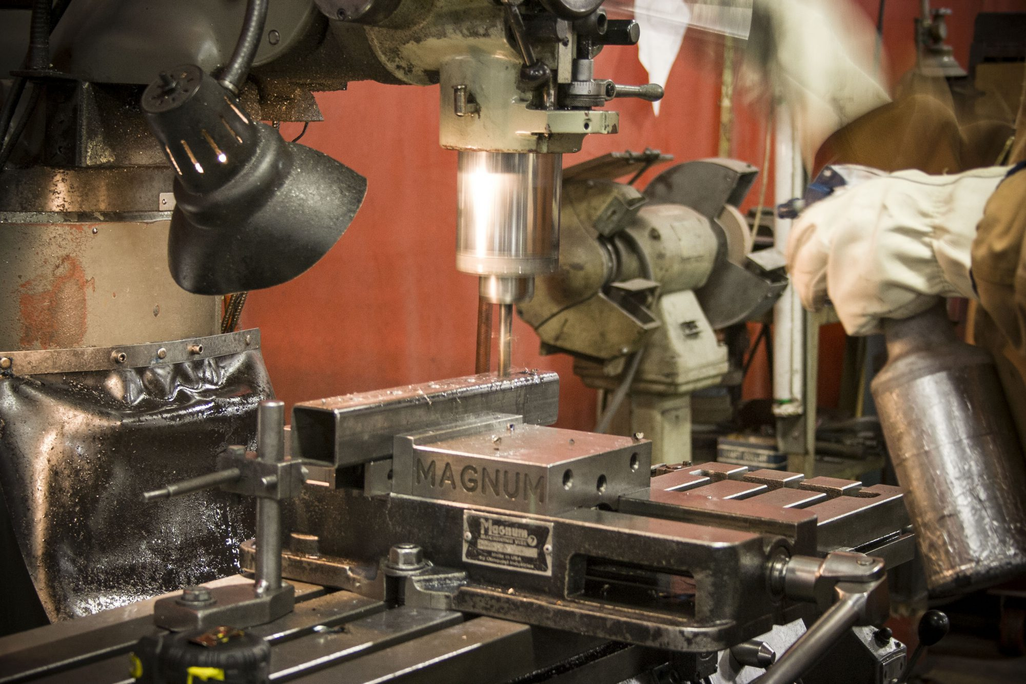 Fully Equipped Machine Shop